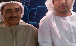 محمد القبيسي والكاتب صالح كرامة