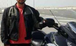 محمد القبيسي ورحلة الى دبي على الدراجات وبانتظار الشباب
